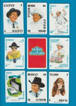 Collectible cards game. Dukes of Hazard By Warner Bros.1981